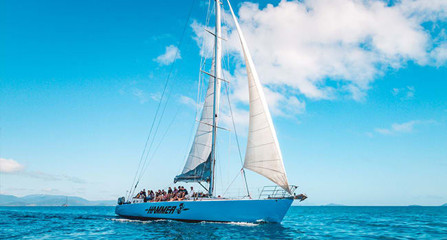 Sailing trip, Whitsundays