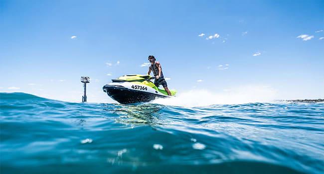 Full day jet ski tour from Geraldton to Pink Lake