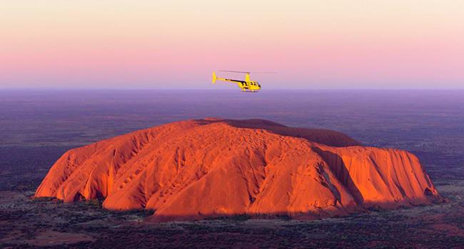 Helicopter Scenic Flight, 15-minute - Uluru
