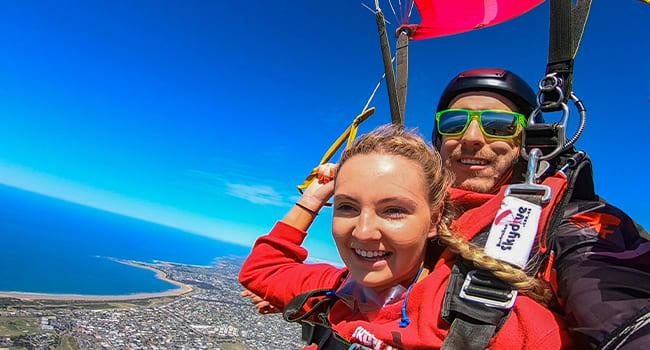 Tandem skydive, Great Ocean Raod, Torquey