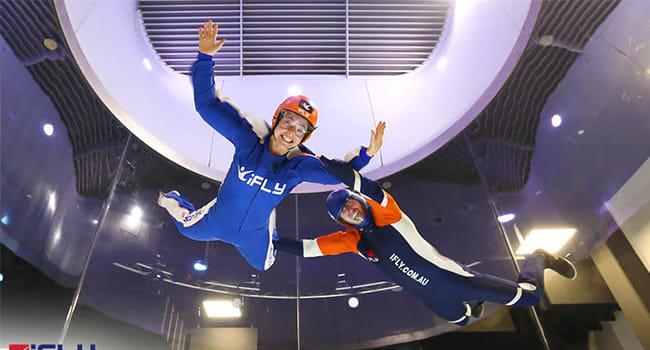 Indoor skydiving in Perth