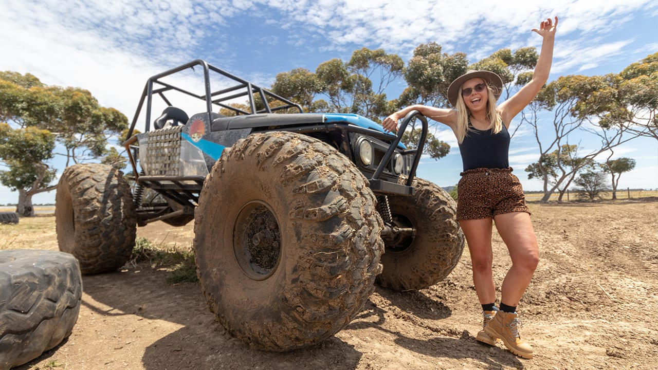 The Adventure Series: Aimee takes on extreme 4x4