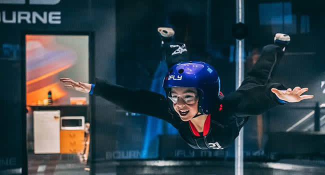 Indoor Skydiving, Melbourne