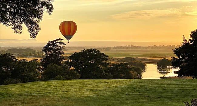 Hot air balloon, Northam