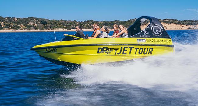 Jetboat rides