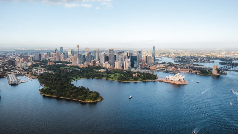Private Helicopter Flight, 30 Minutes - Olympic Park & Sydney Harbour - For up to 3