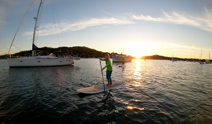 Private Stand Up Paddle Board Lesson - Pittwater, Sydney - For 2
