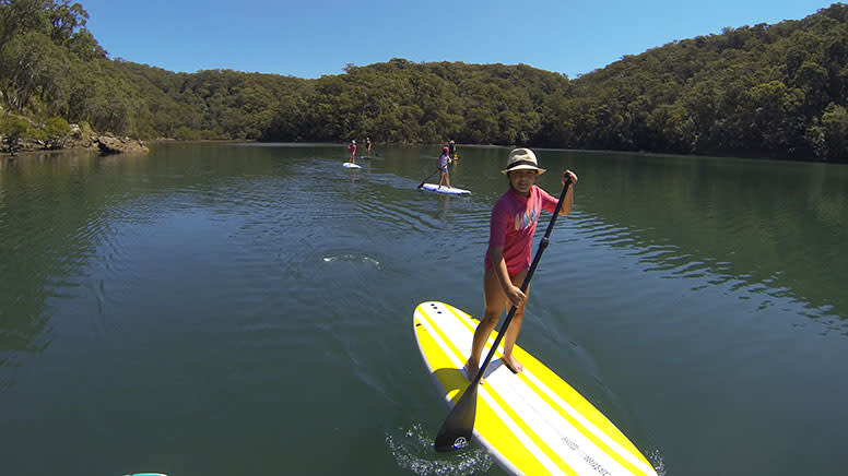 SUP Boarding Lesson & Hire, 2 Hours - Basin Campground, Sydney - For 2