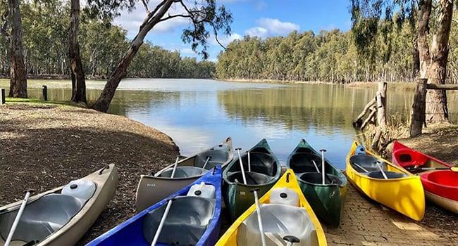 River Kayaking & Camping, Wyuna VIC