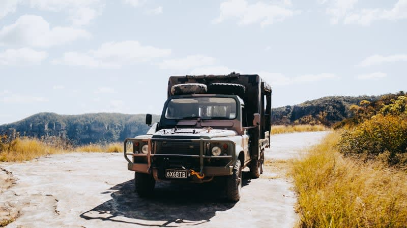 Guided 4WD Tour, 1 Hour - Blue Mountains