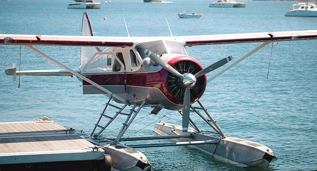 Day 4: seaplane