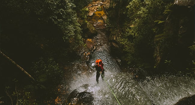 Day 2: canyoning