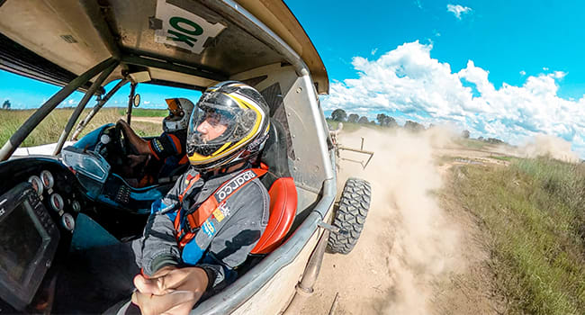 Day 1: off-road racing