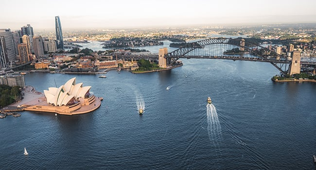 City heights & flights – Sydney CBD