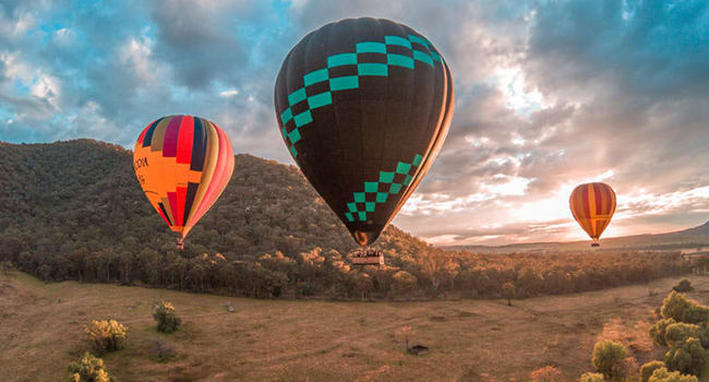 Fly & Dine - Hunter Valley