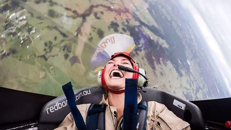 Aerobatic Flight in a Stunt Plane, 20 Minutes - Sydney