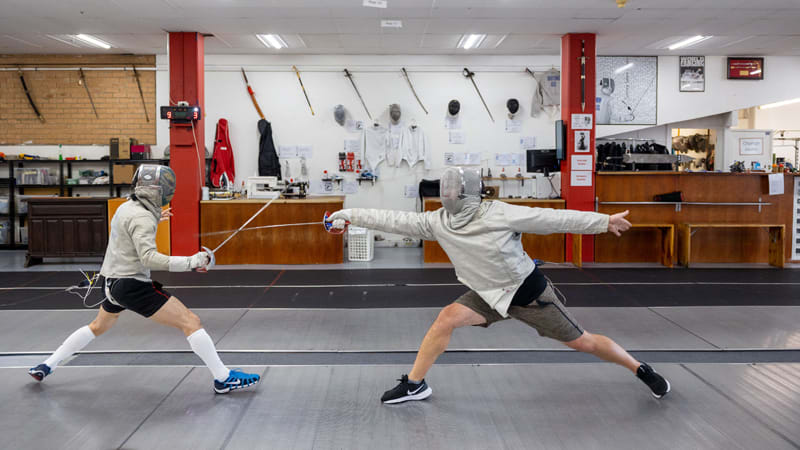 Sabre Fencing Class & Practice Time, 3.5 Hours - Sydney