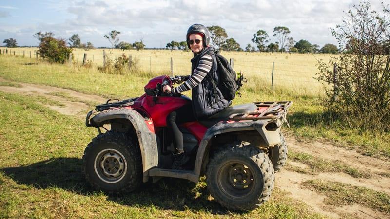 Quad Bike Tour, Half Day - Gippsland, Melbourne Region