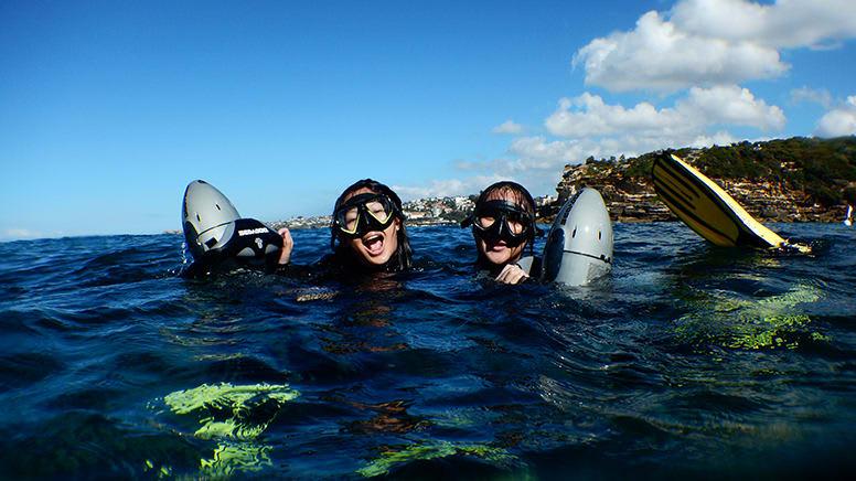 Underwater Scooter Tour - Gordon's Bay, Sydney