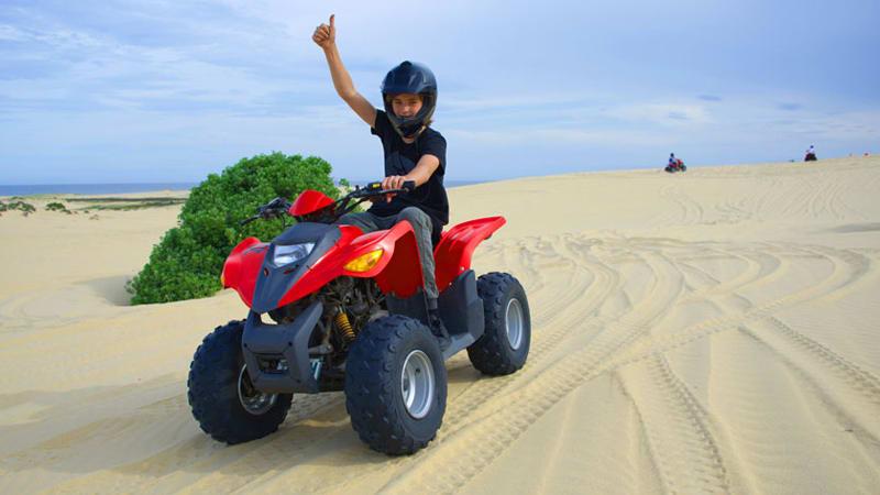 Quad Biking Sandpit Adventure, Weekdays - Port Stephens, Stockton Sand Dunes