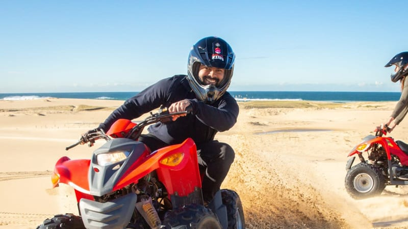 Quad Biking Sandpit Adventure, Weekends - Port Stephens, Stockton Sand Dunes