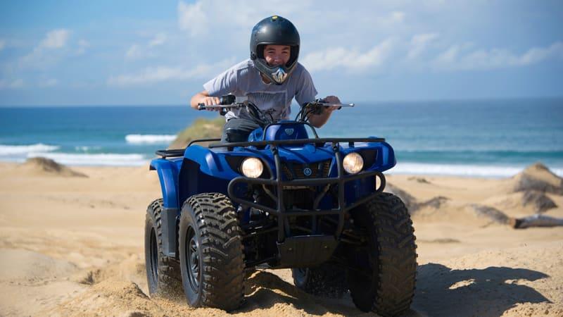 Quad Biking Sand Dune Safari, Weekdays - Port Stephens, Stockton Sand Dunes