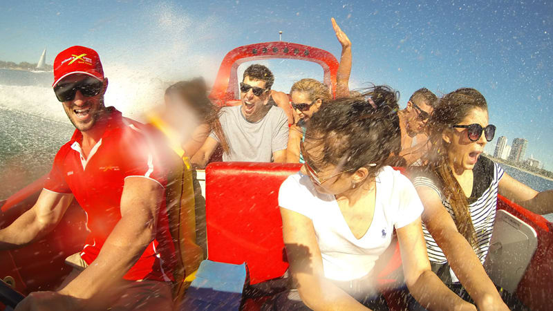 Jet Boat Ride, 55 Minutes - Central Surfers Paradise, Gold Coast