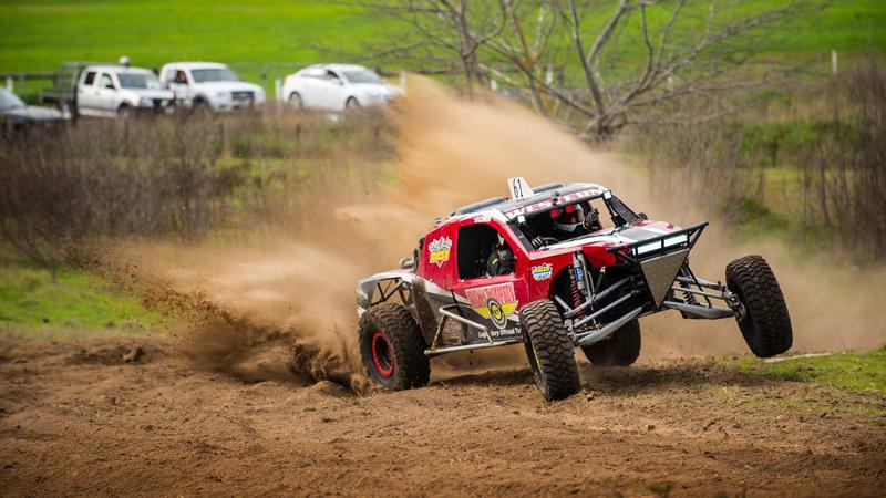 Drive 8 V8 Race Buggy Laps, 8 WRX Rally Laps, & Ride 2 Hot Laps - Brisbane