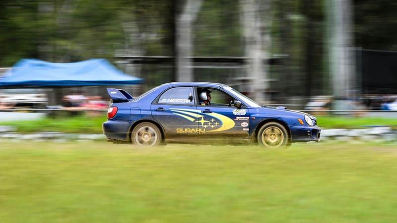 Subaru WRX Rally Cars, 12 Lap Drive & 1 Hot Lap - Brisbane
