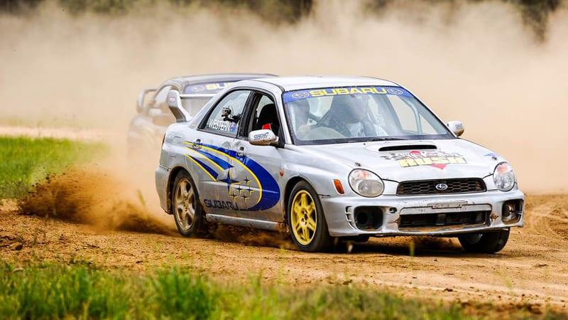 Subaru WRX Rally Cars, 4 Lap Drive & 1 Hot Lap - Brisbane