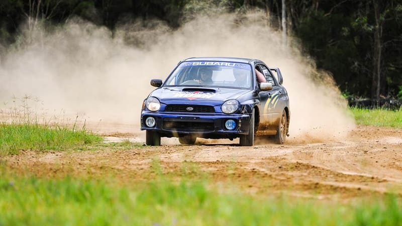Subaru WRX Rally Cars, 8 Lap Drive & 1 Hot Lap - Brisbane