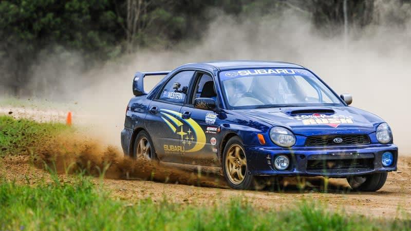 Subaru WRX Rally Cars, 6 Lap Drive & 1 V8 Buggy Hot Lap - Brisbane