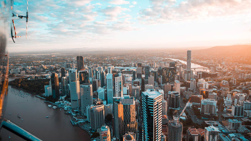 Helicopter Flight with Front Seat Guarantee, 15-20 Minutes - Brisbane CBD