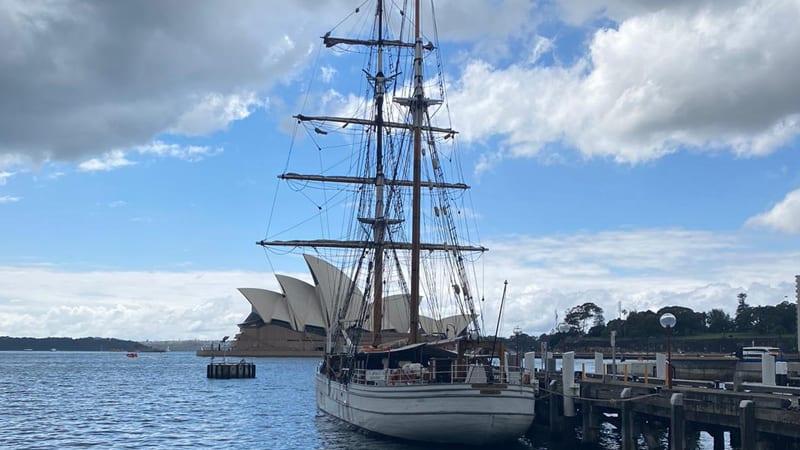 Tall Ship Twilight Dinner Cruise, Summer Season - Sydney