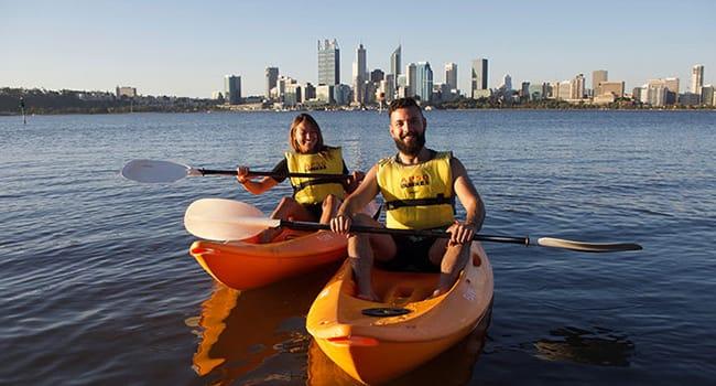 Kayaking adventure, Perth