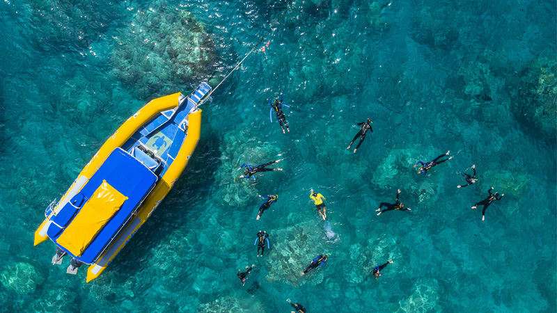 Scenic Flight, Rafting and Snorkelling, Full Day - Whitsundays