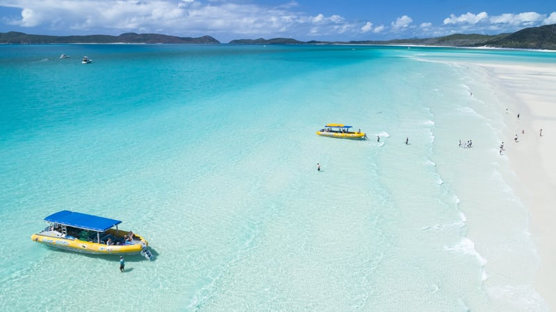 Whitsundays Full Day Jet Rafting & Whitehaven Beach Tour - Airlie Beach