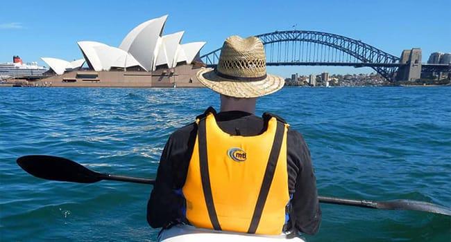 Kayaking, Sydney Harbour