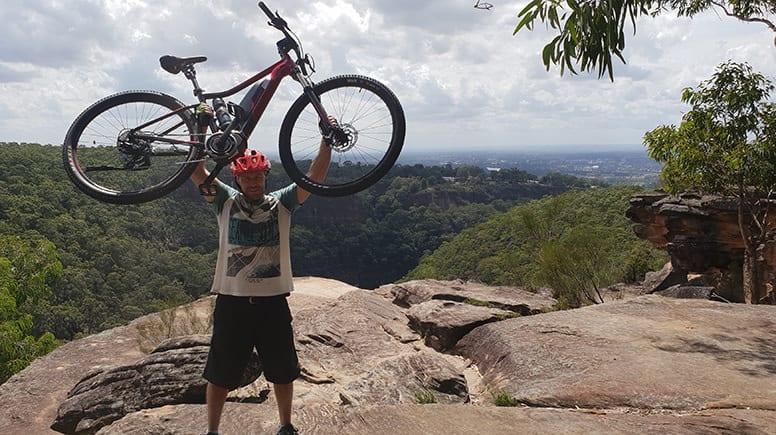 Guided Half Day E-Bike Adventure - Blue Mountains