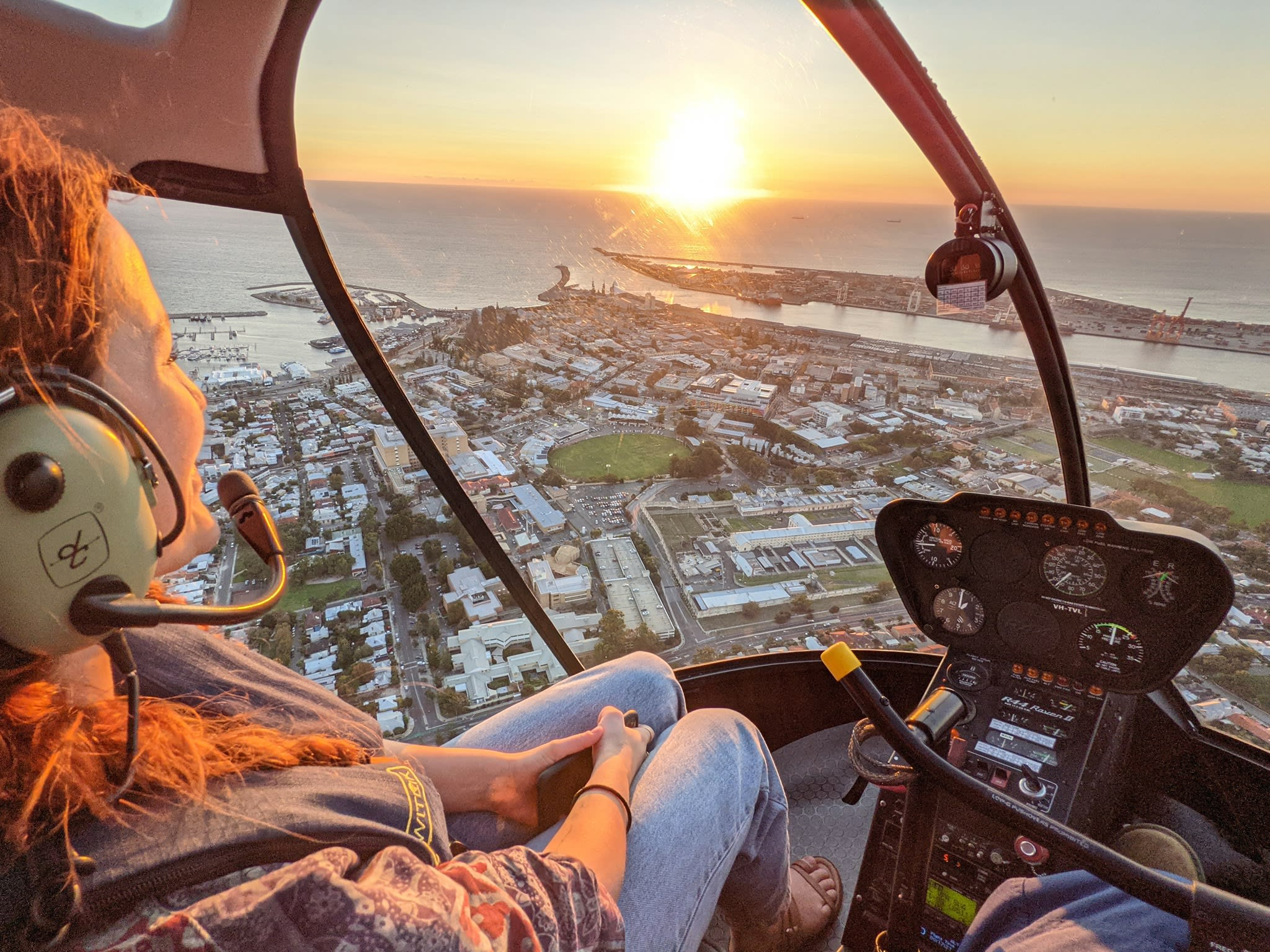 Fremantle Helicopter Flight For 2, 15 Minutes - Weekday Special