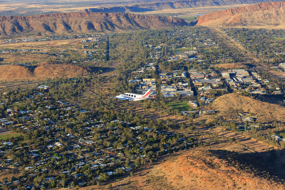 Scenic Flight, 45 Minutes - Alice Springs & The MacDonnell Ranges