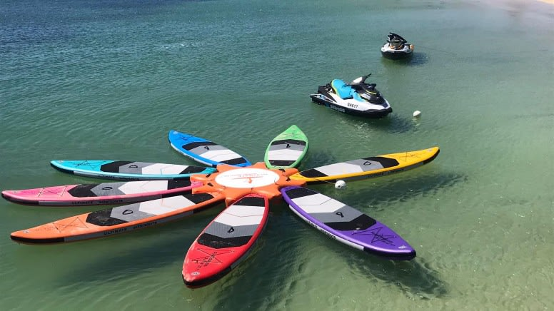 SUP or Kayak Hire, Half Day - Exmouth