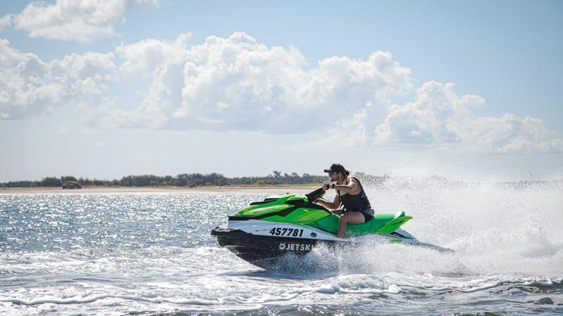 Jet Ski to Stradbroke Island and Jet Boating - Gold Coast - For 2