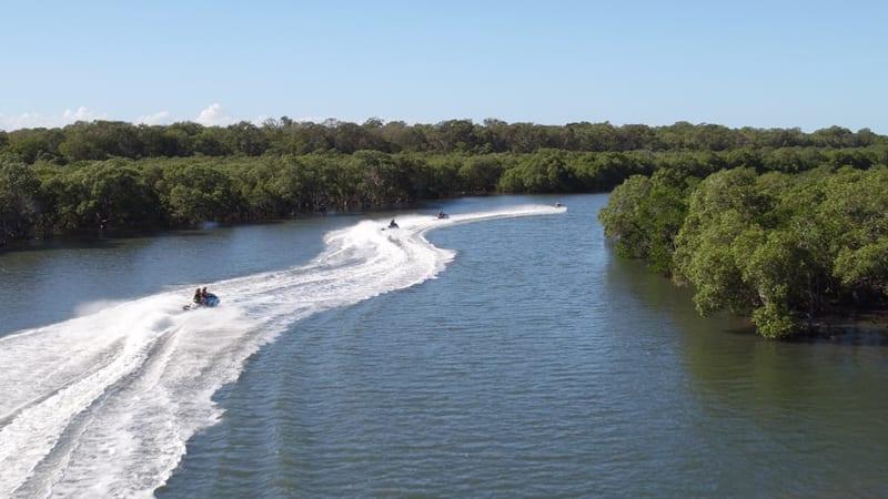 Ultimate Jet Ski Safari With a Passenger, 2.5 Hours - Gold Coast