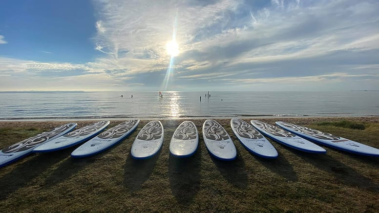 Private Stand Up Paddle Board Lesson, 1 Hour - Brisbane