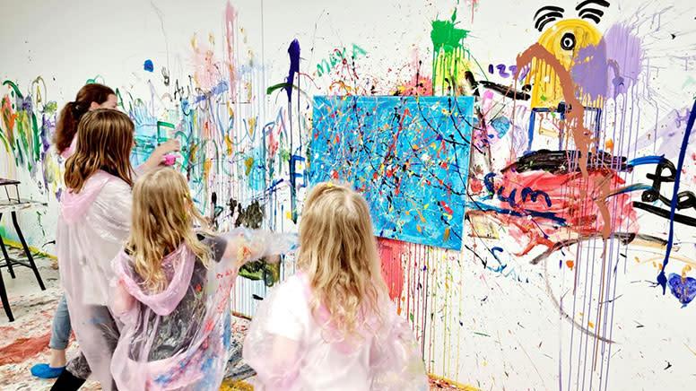 Paint Splash Room, 1 Hour - Sydney - For 2