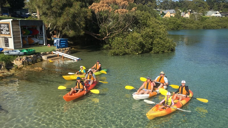 Double Kayak Hire, 2 Hours - Mossy Point, Batemans Bay