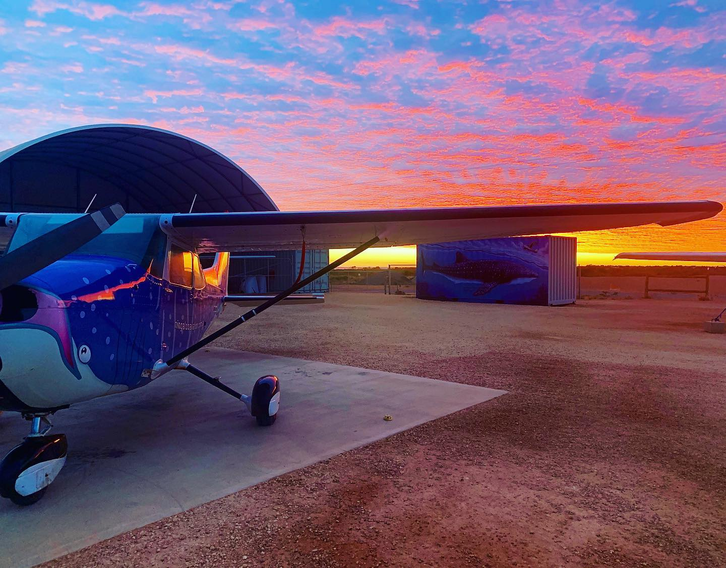 Private Sunset Ningaloo Scenic Flight, 1 Hour - Exmouth - For up to 3