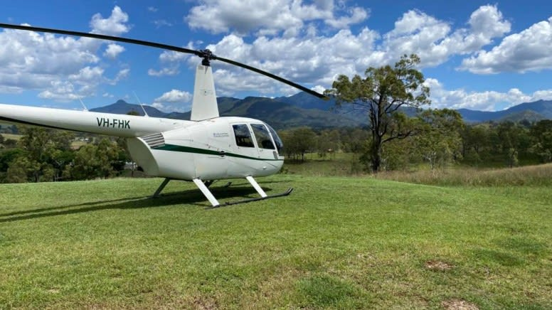 Wollumbin Crater Helicopter Flight, 50 Minutes - Gold Coast