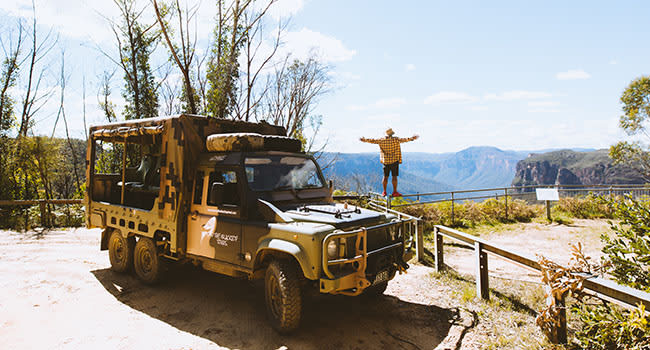Guided 4WD Tour, the Blue Mountains